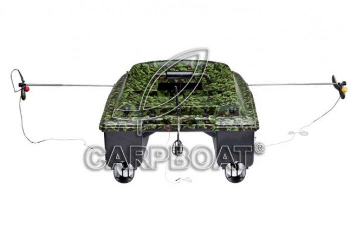 Купить Радиоуправляемый кораблик для рыбалки CARPBOAT Deluxe Румашинки.рф