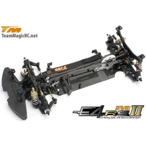 Шасси туринг 1/10 Electric - 4WD Team Magic E4RS II EVO (Spool Ver.) в разборе