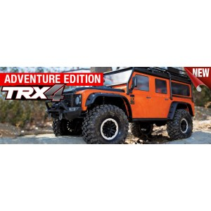 Радиоуправляемая машина TRAXXAS TRX-4 Land Rover Defender Adventure Edition