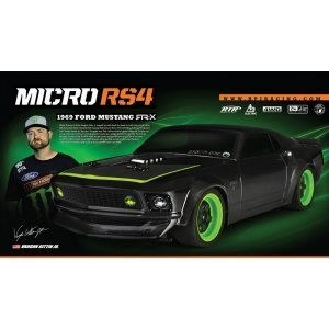 1/18 - Micro RS4 1969 FORD MUSTANG RTR-X (Влагозащита)