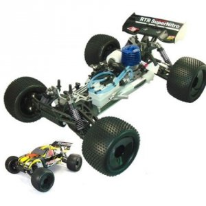 HSP Nitro 4WD Off-Road Truggy 1:8