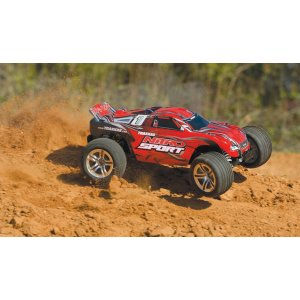 TRAXXAS    NITRO SPORT ASSB W/RADIO + NEW Fast Charger