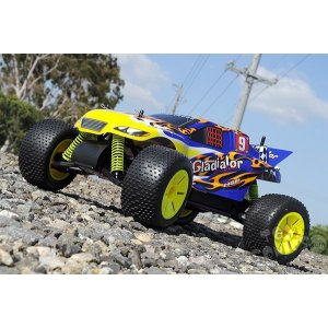 HSP Gladiator-L Nitro Off-Road Truggy 4WD 1:10 2,4G, ДВС нитро - 94120N