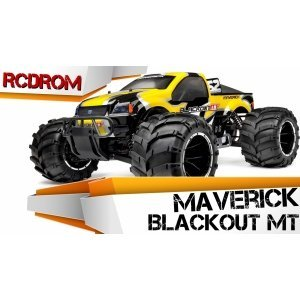Монстр 1/5 бензиновый MAVERICK BLACKOUT MT MV12404