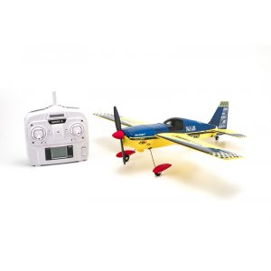 NEW! Радиоуправляемый самолет Nine Eagles Edge 540 Autopilot Blue Yellow Edition 2.4G - NE250272