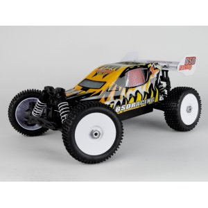 Радиоуправляемая багги 1:10 Off-Road Buggy 4WD, OS.18+Autostart, RTR, 2.4G, Waterproof