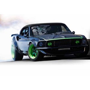 1/10 - NITRO 3 1969 MUSTANG RTR-X (NEW)  HPI-112619