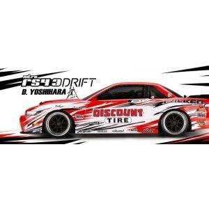 1/10 - NITRO 3 DRIFT DISCOUNT TIRE/NISSAN S-13