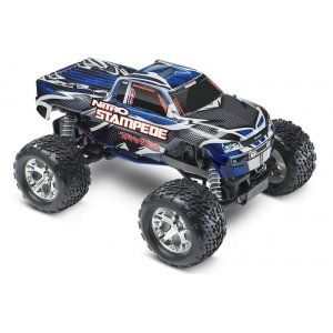 TRAXXAS 1/10 GP 2WD Nitro Stampede TQ RTR+ NEW Fast Charger