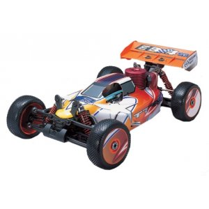 Радиоуправляемый багги Thunder Tiger EB-4 S2 Pro Blue Flague Edition 4WD RTR масштаб 1:8 2.4G - 6231-F101