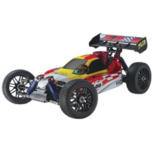 Радиоуправляемый багги Thunder Tiger EB-4 S2 Pro Red Flague Edition 4WD RTR масштаб 1:8 2.4G - 6227-F101