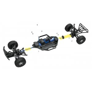 TRAXXAS Slash 4x4 VXL Brushless 1/10 RTR OBA
